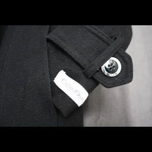 Calvin Klein Pea Coat (55% wool)